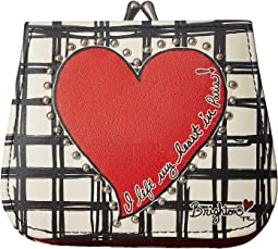 Brighton Paris Heart French Kiss Wallet