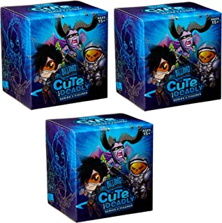 Cute But Deadly Series 2 Vinyl Figure Blind Box lot of 3 Contains: 3 Random figures from Overwatch , Diablo , World Of Warcraft or Starcraft