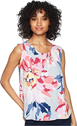 Alyse Printed Sleeveless Top
