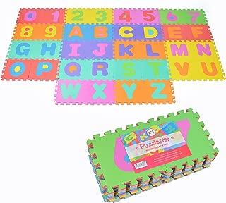 Puzzlestar XXL, 86 Piezas, Alfombrilla para niños de EVA