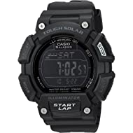 Casio Men's 'TOUGH SOLAR' Quartz Stainless Steel and Resin Sport Watch, Color:Black (Model:...