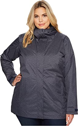 Plus Size Splash A Little II Rain Jacket