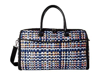 Vera Bradley Iconic Convertible Garment Bag (Abstract Blocks) Bags