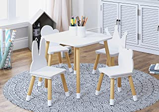 Amazon Com Kids Tables Chairs 50 To 100 Tables Chairs Kids Furniture Home Kitchen