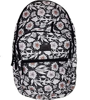 Schooling Pack (Laptop Backpack) Men's/ Women's Floral/Black