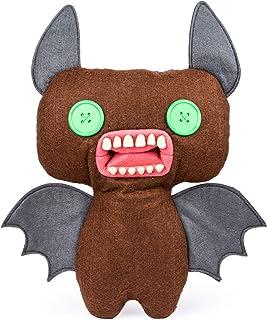 Fuggler Funny Ugly Monster Peluche Murciélago Alado con Ojos Verdes Mediano 24 cm