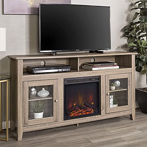 60 Inch Corner Tv Stand With Fireplace Amazon Com