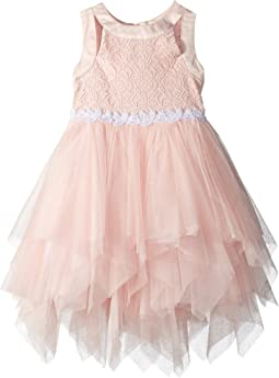 Us Angels Tiered Mesh Dress (Toddler/Little Kids)