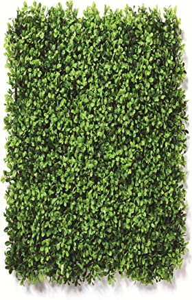 Go Hooked Artificial Vertical Small Leaves Tiles   Vertical Garden Mat (40 X 60 cm, Set of 3)