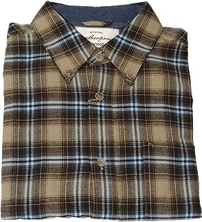 Men's Vintage Flannel Shirt