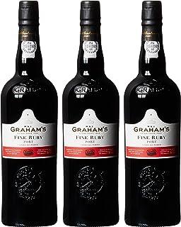 """Graham""""s Fine Ruby Port Lieblich 3 x 0.75 l"""