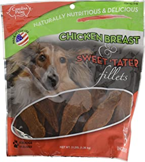 Carolina Prime Pet Chicken Breast and Sweet Tater Fillets - 3lb Bag (3Lb)