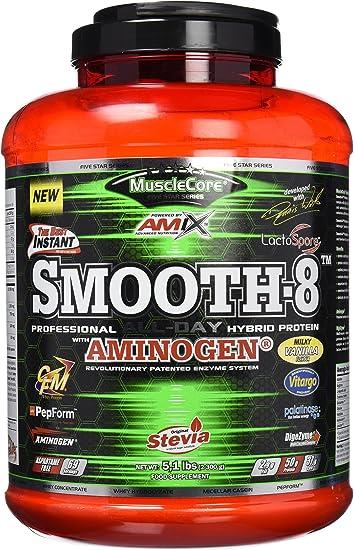 Amix Smooth 8 Hybriid Protein 2300 Gr: Amazon.es: Salud y ...