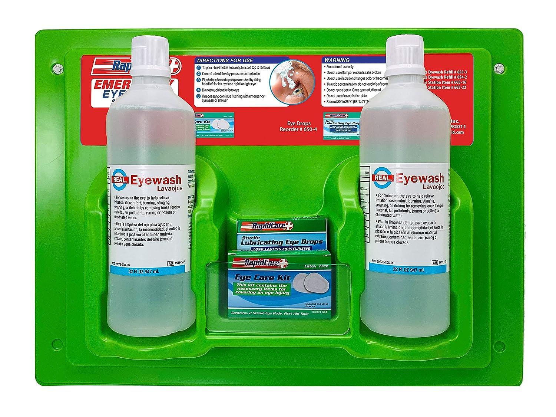 Rapid Care First Aid 665-32 Eye FDA Station 全国どこでも送料無料 安心の定価販売 Wash Com