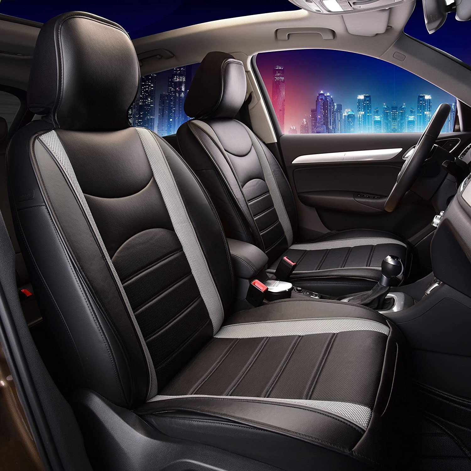FH Group Leatherette Seat Covers
