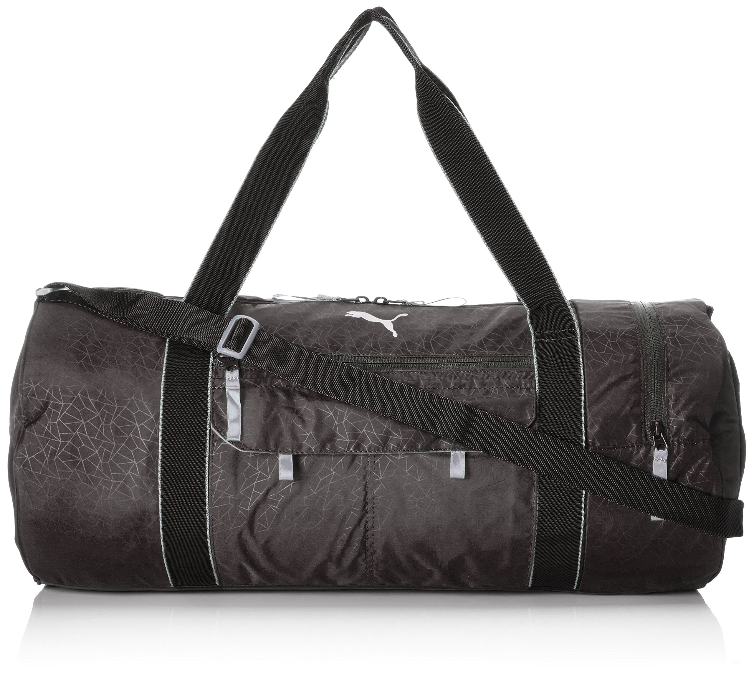PUMA Uni Fit AT Sports Duffle Tasche, schwarz (black-quiet shade), 56 x 30 x 2.5
