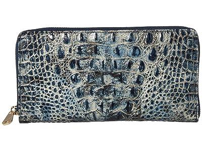 Brahmin Melbourne Skyler Wallet (Glacier) Wallet Handbags
