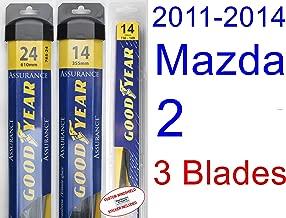 Best mazda 2 2008 wiper blade size Reviews