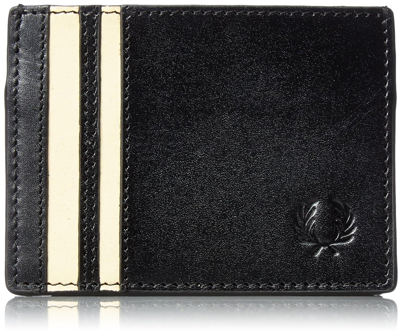 [フレッドペリー] カードケース Cut & Sew Tipped Card Holder