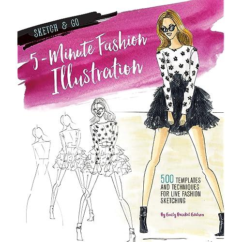 Fashion Design Sketch Book Amazon.com