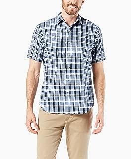 Men's Short Sleeve Performance Seersucker Shirt