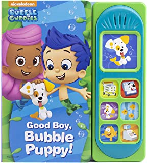 Nickelodeon Bubble Guppies - Good Boy, Bubble Puppy! Sound Book - PI Kids (Bubble Guppies: Play-a-sound)