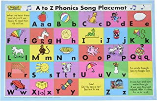 A TO Z PHONICS SONG PLACEMAT SECOND EDITION SING SPELL READ AND WRITE