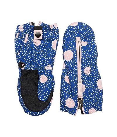 Roxy Kids Snows Up Mitten (Little Kids/Big Kids) (Mazarine Blue Tasty Hour) Snowboard Gloves