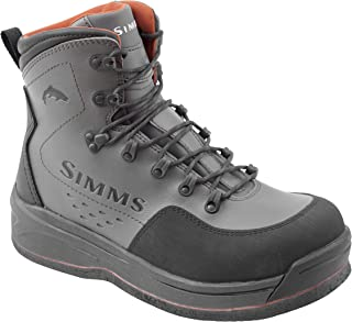 Simms Freestone Felt Sole Wading Boots for Adults – Felt Bottom Fishing Boots – Neoprene Lining