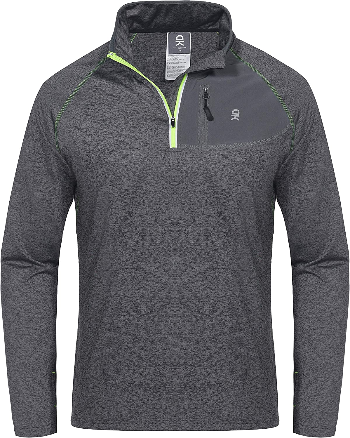 Little Limited price sale Donkey Andy Men's Long Sleeve Lightweight Runni Quick New product! New type Dry