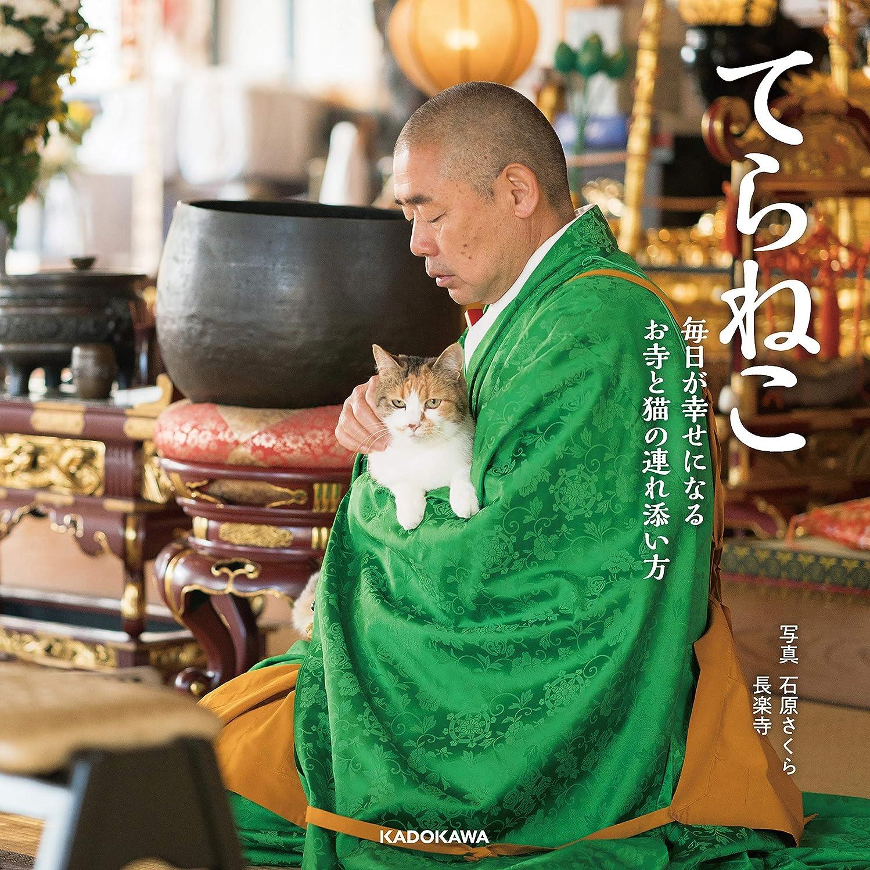 好きアクション希望に満ちたてらねこ 毎日が幸せになる お寺と猫の連れ添い方