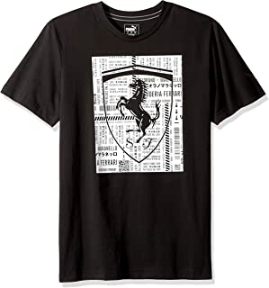 PUMA Mens Ferrari Big Shield Tee