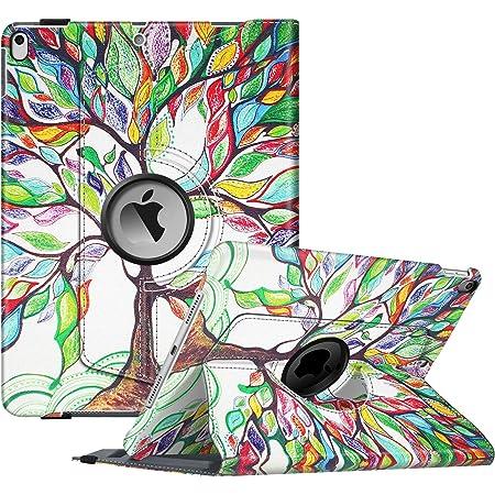 Hue Tree iPad Folio Case Designer Device Cover Rainbow Landscape Painting