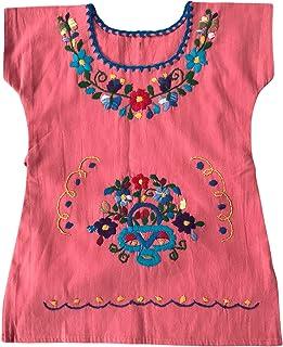 Vestito di cotone per le ragazze- Vestito estivo per ragazza - vestito per bambina 1 anno - vestito di fiori ricamati - ve...