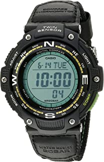 Casio Men's SGW-100B-3A2CF Twin Sensor Digital Display...