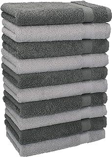 comprar comparacion Betz Paquete de 10 Piezas de Toallas para Invitados Juego de Toalla de Lavabo 100% algodón tamaño 30x50 cm Toalla de Mano ...