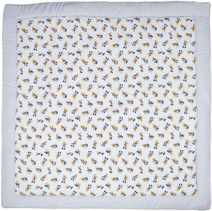 Disney Comet Gris, 100x100 cm Varios modelos y tama/ños disponibles. Manta de suelo acolchada de gateo actividades y juegos para beb/és con aislante del fr/ío