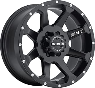 Mickey Thompson M/T Metal Series MM-366 Matte Black Wheel with Milled Lip (20x9