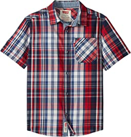 Levi's® Kids The Smith Short Sleeve Shirt (Big Kids)