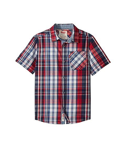 5274476be1 Levi s® Kids The Smith Short Sleeve Shirt (Big Kids) at Zappos.com