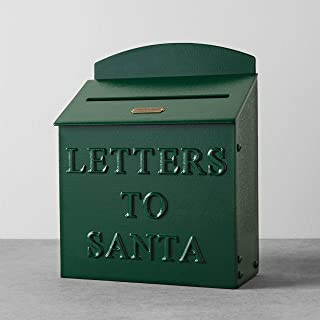 Hearth and Hand with Magnolia Mailbox Letters to Santa Green Christmas Farmhouse Decor