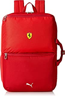 ferrari backpack red