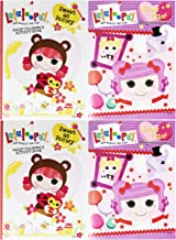 Bendon Publishing International Set of 4 Lalaloopsy Jumbo Coloring & Activity Book! Sweet as Honey - 96 Pages - Tear and Share Pages - Coloring and Activity Book Perfect for Any Lalaloopsy Fan!