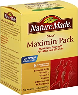 Nature Made Maximin Pack, 30 Packets (Pack of 2)