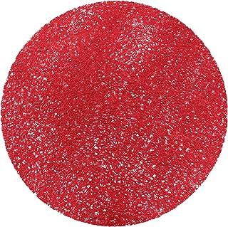 Decorline 1710557 Set de Table PVC Tortilla Rouge 38 x 38 x 38 cm