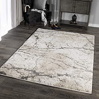 Orian Rugs Super Shag Collection 392616 Marquina Area Rug, 5'3