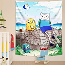 MESE Adventure Time Tapestry Wall Hanging for Bedroom Party Decoration Gifts 50X60in