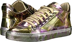 MM6 Maison Margiela - Graphic Metallic Low Top