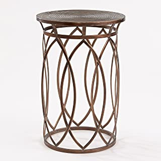 FirsTime & Co. BTSAW8 Marquise Side Accent Table, 22.5
