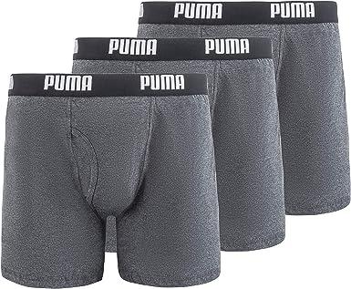 Puma Lot de 3 boxers en coton pour homme